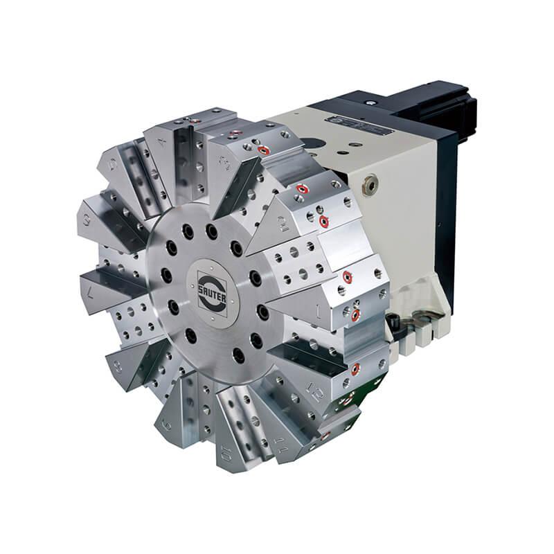 Multi-function turret flexible application
